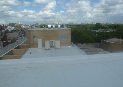 Izolace a zateplení střech, teras a balkonů Česká ambasáda, Anglie-Londýn