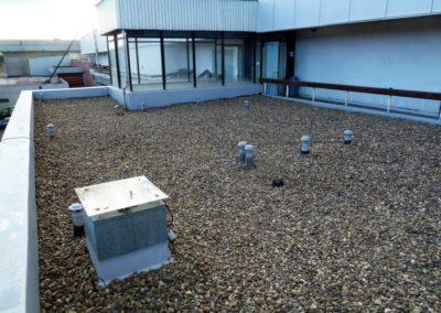 Rekonstrukce střechy, HC Slavie Praha, tělocvična
