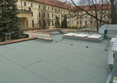 Asfaltová střecha-Pražský hrad, Restaurace Na Baště