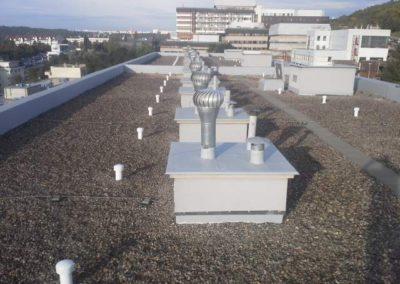 Hydroizolace mPVC folie, Svo Jeřabinová, Praha 5