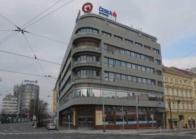 Foliová střecha, Česká Spořitelna, Praha