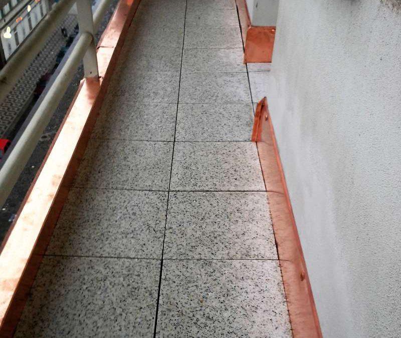 Balkon, Valdek